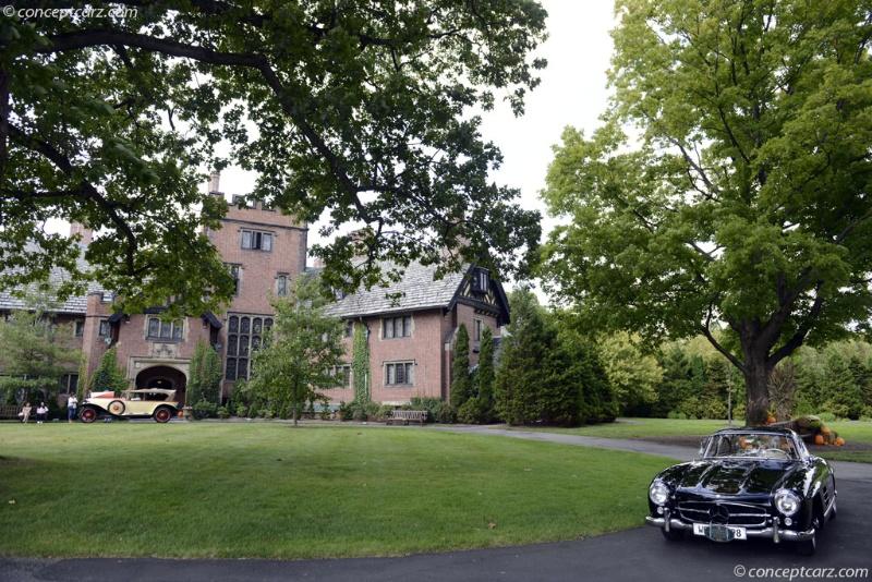 Concours d\'Elegance at Stan Hywet Hall & Gardens
