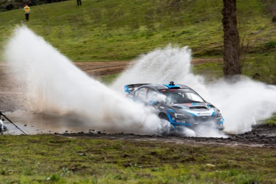Subaru Driver Travis Pastrana Wins The 2017 Oregon Trail Rally
