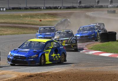 Subaru Takes Double Victory At ARX Rallycross Of Gateway