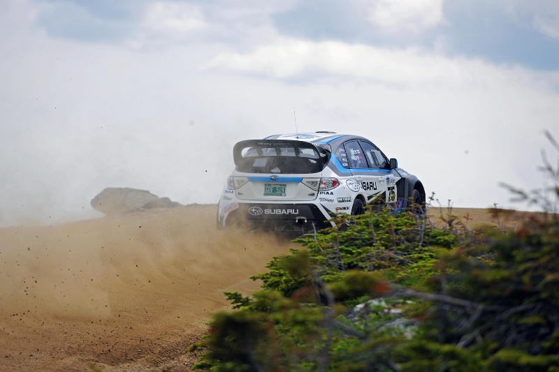 Mt Washington Hill Climb >> Subaru Driver David Higgins Breaks Course Record Again At