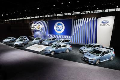 Subaru Of America Debuts Limited Edition Models To Commemorate 50Th Anniversary