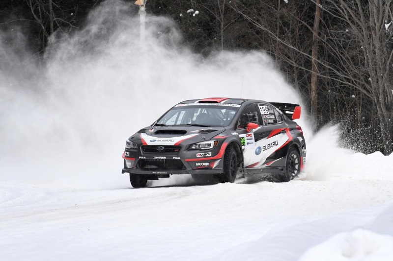 victory for subaru rally team usa at inaugural american rally association championship event. Black Bedroom Furniture Sets. Home Design Ideas