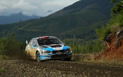Subaru Driver Patrik Sandell Victorious At Rain-Soaked Tour De Forest Rally