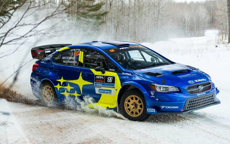 Subaru takes 1-2 finish at Sno*Drift to open 2021 rally season
