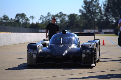 TEQUILA PATRÓN ESM RUNS FIRST LAPS IN HONDA COUPE