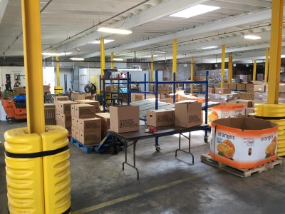 A SERVING OF MANUFACTURING KNOW-HOW HELPS THOSE IN NEED