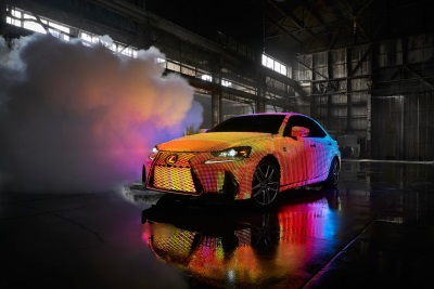 Lexus Unveils LED-Covered LIT IS with Premiere of Dua Lipa's 'Be the One' Music Video