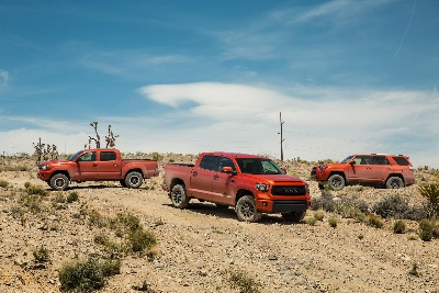 Toyota Releases Pricing for All-New TRD Pro Series Tacoma and 4Runner