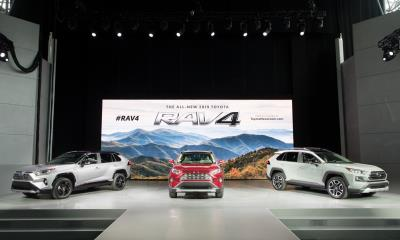 All-New 2019 Toyota RAV4 Serves Up A Breakthrough Debut At New York International Auto Show