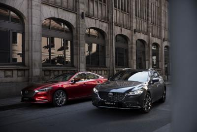 Mazda Announces UK Price And Specification For New Mazda6 Saloon And Tourer
