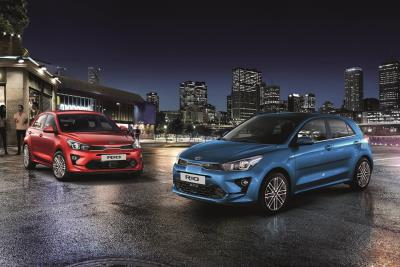 Electrified Power, 'Big Car' Technology, And Refreshed Design For Upgraded Kia Rio