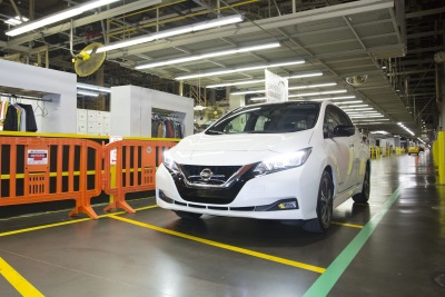 U.S. Production For All-New 2018 Nissan Leaf Begins In Tennessee Today
