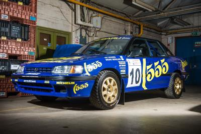 Vatanen And Burns Driven Subaru Rally Car For Auction