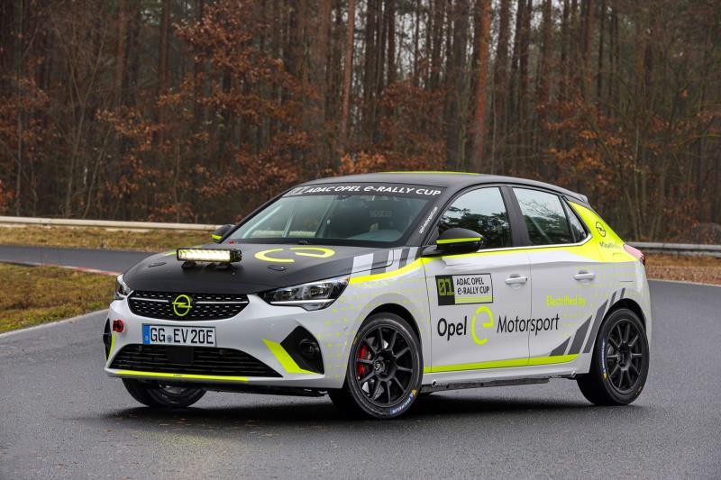 2020 Opel Corsa-e Rally
