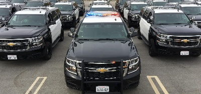 COUNTY OF VENTURA TAKES FIRST DELIVERY OF CHEVROLET TAHOE PPV
