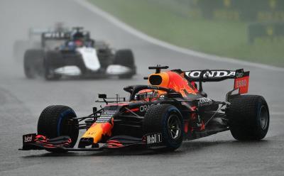 Max Verstappen Wins Rain-Marred Event in Belgium