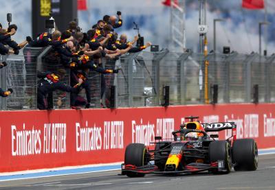 Max Verstappen Leads Honda Double Podium in France