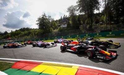 Max Verstappen Earns Sixth Straight Podium For Honda