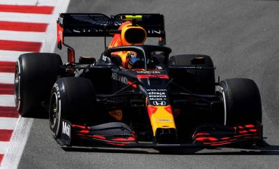 Max Verstappen Takes Honda To Second Place In Spain