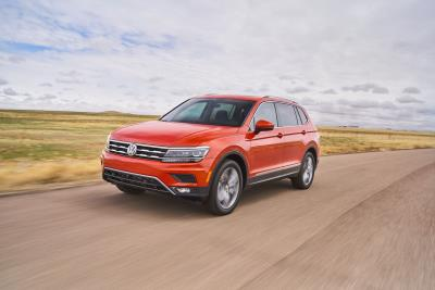 Volkswagen Of America Reports April 2018 Sales Results