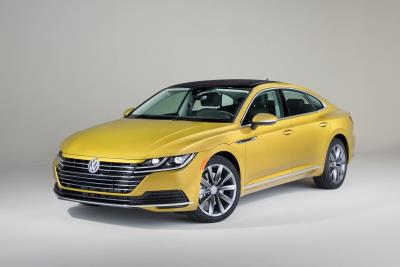 All-New 2019 Volkswagen Arteon Makes U.S. Debut At The Chicago Auto Show