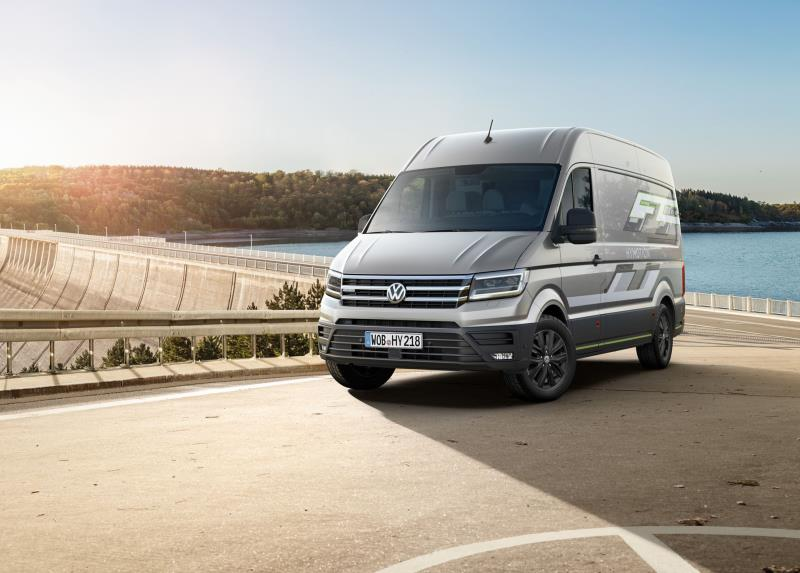 Volkswagen Commercial Vehicles Is Electrifying The 2018 IAA With Five New Zero-Emission Models