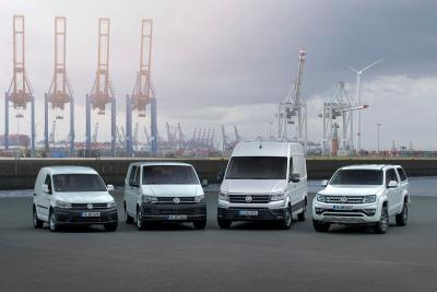 Volkswagen Commercial Vehicles: Further Growth In Deliveries In 2017