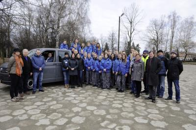 Volkswagen Donates T6 Transporter For Preservation Work At Auschwitz Memorial Site