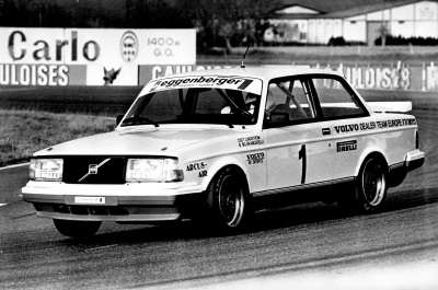 30 YEARS SINCE THE VOLVO 240 TURBO REIGNED OVER THE RACE TRACKS OF EUROPE