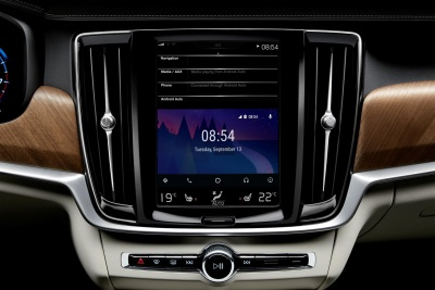 VOLVO ENHANCES CONNECTIVITY IN ITS 90 SERIES CARS WITH LAUNCH OF ANDROID AUTO