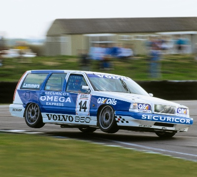 TWENTY YEARS SINCE VOLVO MADE ITS DEBUT IN THE BTCC WITH THE 850 ESTATE