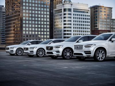 Volvo Cars' Global Sales Up By 14.5 Per Cent In August