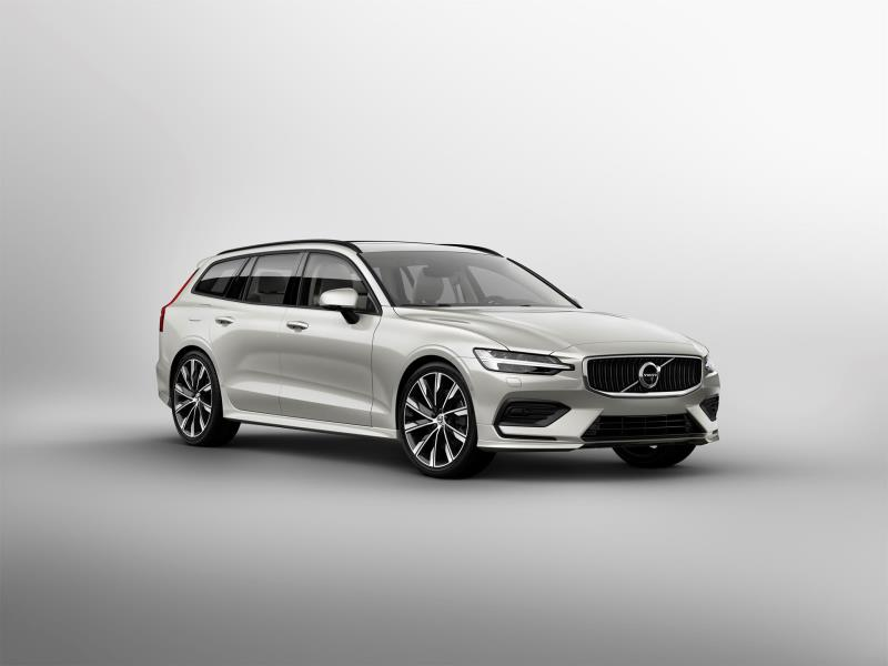New Volvo V60 Awarded Class-Leading Residual Values By Cap Hpi
