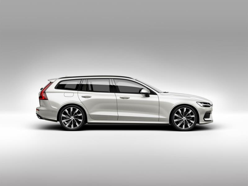 New Volvo V60 Class-Leading Residual Values Will Save Drivers Money When Buying The Car On A Personal Lease