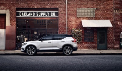 New Volvo XC40 Scores Residual Values Win Versus Premium Rivals