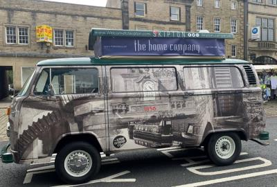 Iconic 'Barn Find' 1970s Campervan Converted Into Mobile Monument To Promote Local Landmarks
