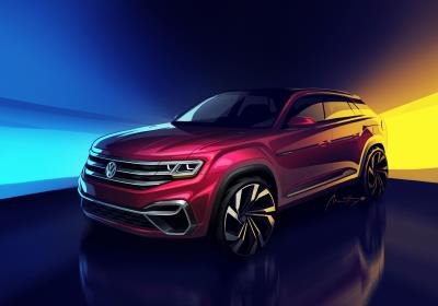 Volkswagen Announces A New Five-Passenger Atlas SUV To Be Built In Chattanooga