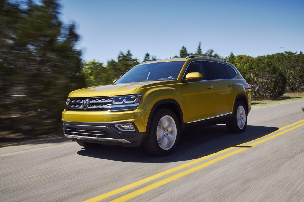 Volkswagen Atlas Named 2018 Best Three Row Suv For Families By Pas Magazine And Edmunds