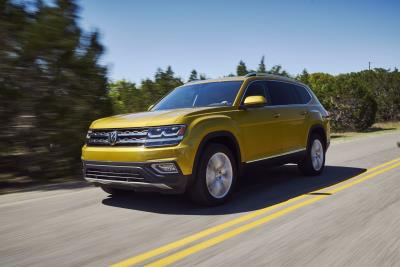 Volkswagen Atlas Named 2018 Best Three-Row SUV For Families By Parents Magazine And Edmunds