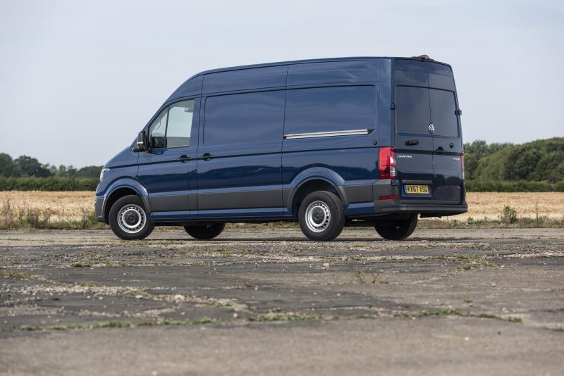 Volkswagen Crafter Retains Best Van Title At Parkers New Car Awards 2019