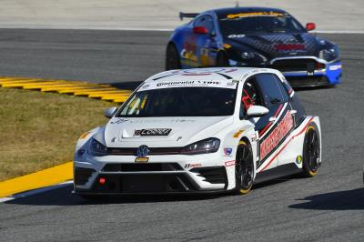 New Volkswagen GTi TCR Race Car Makes U.S. Competitive Debut In BMW Endurance Challenge At Daytona