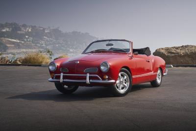 Sixty-Five Years Later, The Beauty Of The Karmann Ghia Endures