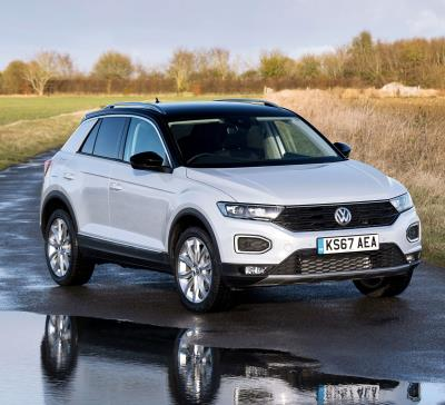 volkswagen adds tempting offer to stylish t-roc design and sporty r