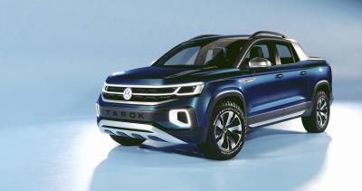 Volkswagen Shows Tarok Pickup Concept At The New York International Auto Show