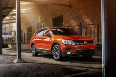 Volkswagen Tiguan Named A Best New SUV For Teens By U.S. News & World Report