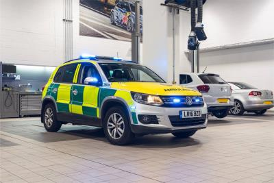 Volkswagen UK Assists London Ambulance Service With Tiguan Tech Updates