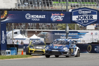 VOLKSWAGEN BEETLE GRC CELEBRATES FIRST BIRTHDAY AT PORT OF LOS ANGELES DOUBLEHEADER