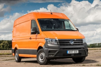 volkswagen crafter named best van at the parkers new car awards 2018. Black Bedroom Furniture Sets. Home Design Ideas