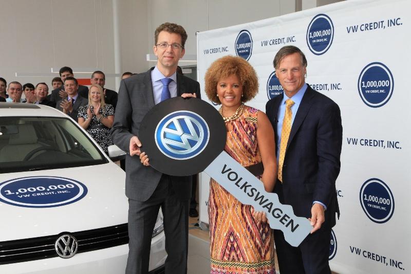 VW CREDIT, INC. CELEBRATES 1 MILLION CUSTOMER ACCOUNTS