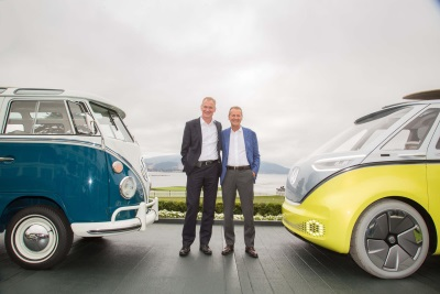 Decision To Manufacture An Electric VW Microbus Based On The Iconic Design Of The I.D. Buzz¹ Concept